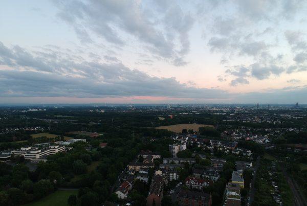 Über Holweide – Drone Shot