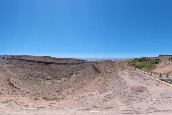 Gran Canaria Mountain Pano