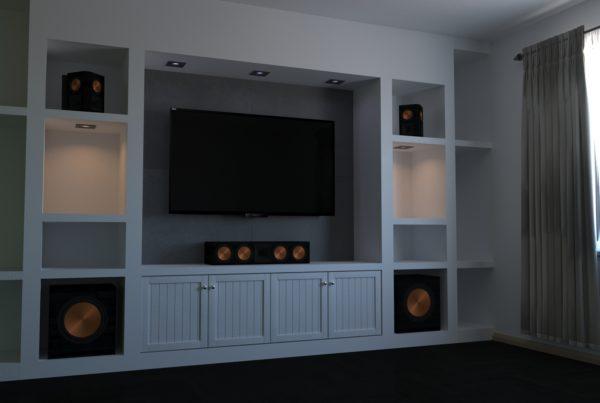 Wohnzimmer (Media) Wall